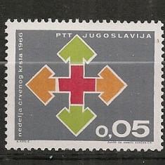 Iugoslavia.1966 Crucea Rosie SI.842 - Timbre straine