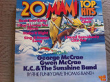funky dave thomas band 20 miami top hits disc vinyl lp muzica pop funk disco