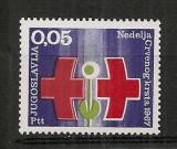 Iugoslavia.1967  Crucea Rosie  SI.843