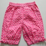 Pantaloni, pantalonasi treisferturi pentru fetite, marimea 86 cm, 1-3 ani
