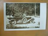 Moreni 23 august 1923 sonde masina carte postala, Necirculata, Fotografie