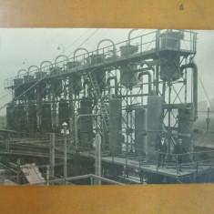 Campina 1926 mai  rafinaria Steaua Romana  carte  postala