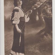 COSTUM TRADITIONAL  PORT DIN RASNOV  PORT POPULAR, Necirculata, Printata