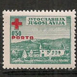 Iugoslavia.1947 Porto-Crucea Rosie SI.875