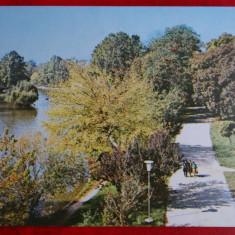 Vedere Craiova - Parcul - Carte Postala Banat dupa 1918, Circulata