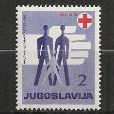 Iugoslavia.1959 Crucea Rosie SI.832 - Timbre straine