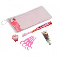 Set igiena dentara pentru copii Hello Kitty