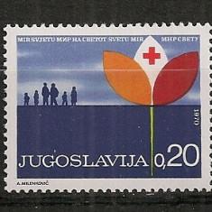 Iugoslavia.1970 Crucea Rosie SI.848 - Timbre straine