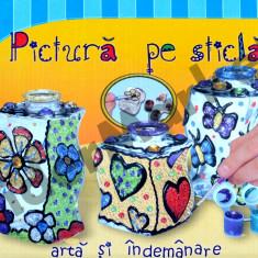 Set de pictura pe sticla - Jocuri arta si creatie