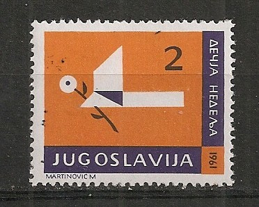 Iugoslavia.1961 Saptamina copiilor  SI.837