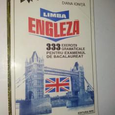 Limba engleza - 333 de exercitii gramaticale - Curs Limba Engleza