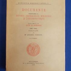 ANDREI VERESS - DOCUMENTE PRIVITOARE LA ISTORIA ARDEALULUI, MOLDOVEI * VOL.X-1938 - Carte veche