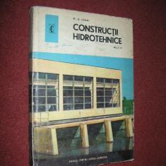 N.G. Ioan - Constructii hidrotehnice, manual pentru anul III - Carti Energetica