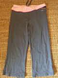 Pantaloni de dama, capri 3/4 Nike, mas. XL, Gri, Articole mulate