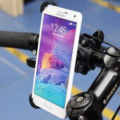 Suport bicicleta moto Samsung Galaxy Note 4 + folie ecran + posta gratuita - Suport telefon bicicleta