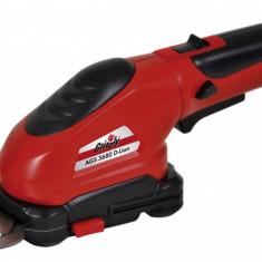 Foarfecă tăiat iarbă şi arbuşti cu accumulator AGS 3680 D-Lion, Acumulator, < 30, 40, Grizzly Tools