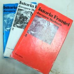 ISTORIA FRANTEI-JACQUES MADAULE 3 VOL. - Istorie
