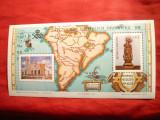 Colita - Harta America Sud - Expozitia Arbrafex 88 Argentina