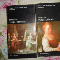 Isoria vietii private (vol.5+6)-Phillippe Aries, Georges Duby - Istorie