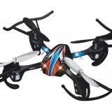 DRONA R/C PROFESIONALA CU 4 MOTOARE SI TEHNOLOGIE 2, 4GHZ, ZBOR 3D ECHILIBRAT.