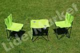Set masa si scaune pentru camping, picnic si plaja