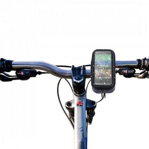 Suport bicicleta impermeabil waterproof HTC ONE M8 + folie ecran