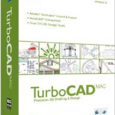 TurboCAD MAC v3.0 - Soft Apple, Mac OS X 10.5, CD, Retail, Numar licente: 1