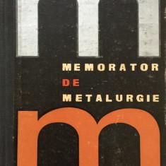 MEMORATOR DE METALURGIE - Benno Nachbar
