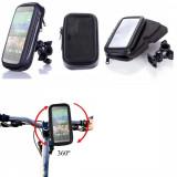 Suport bicicleta impermeabil waterproof HTC ONE M9 + folie ecran