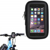 Suport bicicleta impermeabil  waterproof Iphone 6 si folie ecran