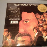 THEM with VAN MORRISON - THE WORLD OF THEM (1970 /DECCA REC/ RFG ) - VINIL/VINYL