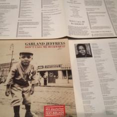 GARLAND JEFFREYS - DON'T CALL ME BUCK WHEAT (1978 /RCA REC/ RFG ) - VINIL/VINYL - Muzica Rock ariola