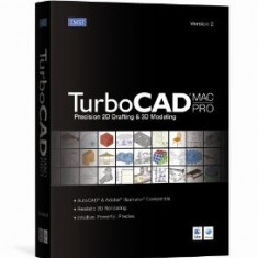TurboCAD MAC PRO v2 - Soft Apple, Mac OS, CD, Retail, Numar licente: 1