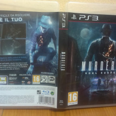 Murdered: Soul Suspect (PS3) (ALVio) + sute de Jocuri PS3 Square Enix ( VAND / SCHIMB ), Actiune, 16+
