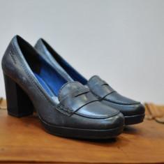 TAMARIS PANTOFI DE PIELE MARIMEA 38 - Pantof dama, Culoare: Din imagine
