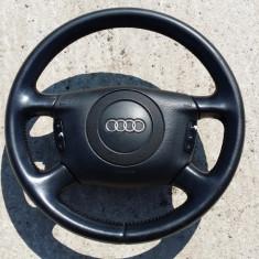 Volan piele cu comenzi si airbag Audi A6 4B C5 stare FOARTE BUNA, A6 (4B, C5) - [1997 - 2005]