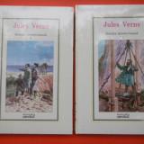INSULA MISTERIOASA Jules Verne 2 vol Nr.2-3 Biblioteca Adevarul Sigilate - Carte de aventura