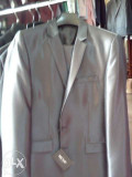 Costum Moda Aliss, Gri