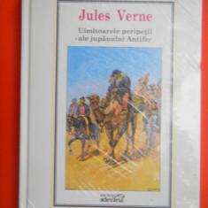 UIMITOARELE PERIPETII ALE JUPANULUI ANTIFER Jules Verne Nr.15BIBLIOTECA Adevarul - Carte de aventura