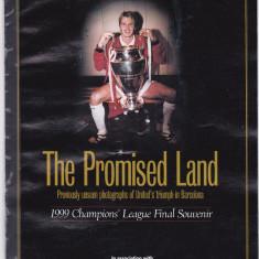 Brosura fotbal-dedicata castigarii CCE IN 1999 MANCHESTER UNITED