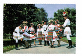 Carte Postala vedere veche 1975, Bistrita Nasaud, Dans din Sieut, costum popular, Circulata, Printata
