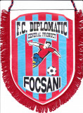Fanion fotbal FC DIPLOMATIC GENERAL PRODUCT FOCSANI
