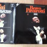 luciano pavarotti baravo disc dublu vinyl disc 2 lp muzica clasica opera decca