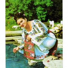 Carte Postala, vedere veche, 1973 cu Ionela Prodan interpreta de muzica populara, Necirculata, Printata