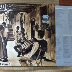 EROS RAMAZZOTTI In Certi Momenti disc vinyl vest mapa texte pop rock 1987 lp, VINIL