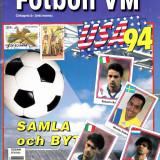 Album stickere Figurine Panini - WORLD CUP SUA`94(echipa Romaniei completa)