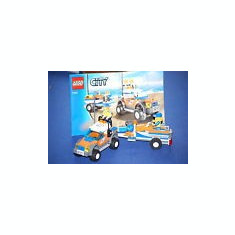 LEGO 7737 Coast Guard 4WD & Jet Scooter - LEGO City