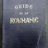 Guide de la Roumanie, 1940 - Carte veche