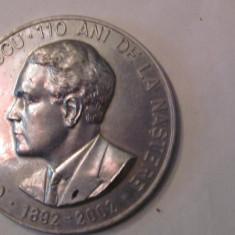 "MMM - Medalie Romania ""Cezar Petrescu 110 Ani de la Nastere"" aluminiu unifata"