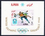 AJMAN 1968 JOCURILE OLIMPICE DE IARNA
